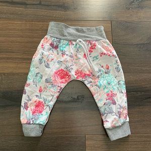 Floral Joggers